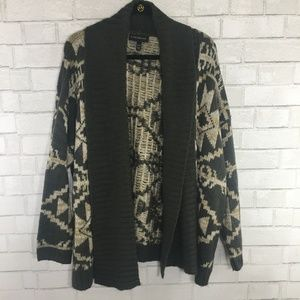 Lane Bryant Chunky Knit Open Front Cardigan, 22/24